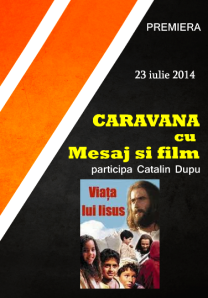 Caravana cu mesaj si film_catalin  dupu - teleorman 23