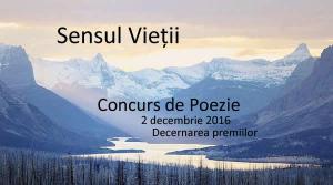 concurs de poezie 2016